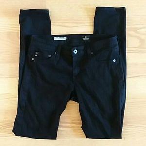 AG jeans the legging size 27 black skinny jeans
